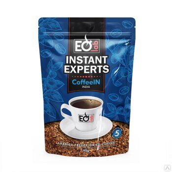 КОФЕ РАСТВОРИМЫЙ СУБЛИМИРОВАННЫЙ INSTANT EXPERTS COFFEEIN, 95 Г